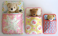 Bears sleeping bags