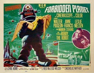 Recently Viewed Movies: Monster Mash Blogathon: Forbidden ... Forbidden Planet 1956 Poster