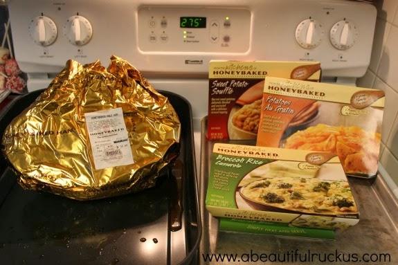 honeybaked ham sides heating instructions