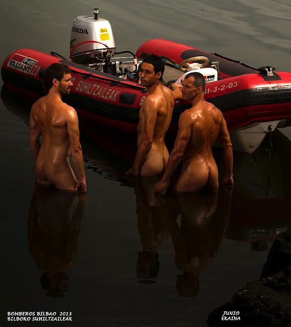 comprar el calendario bomberos de bilbao: