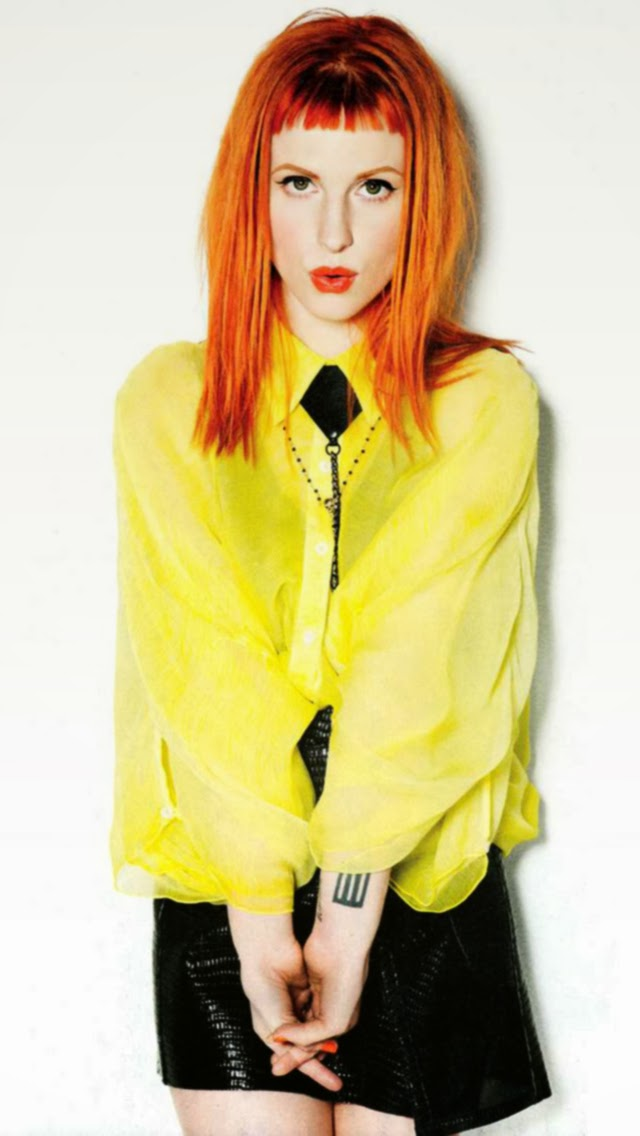 Hayley Williams 2013 iPhone 5S Wallpaper | iPhone 5 ...