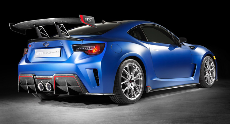 Subaru Makes Their Brz Sti Performance Concept Official