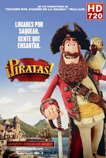 Ver The Pirates! Band of misfits (¡Piratas!) (2012) Online