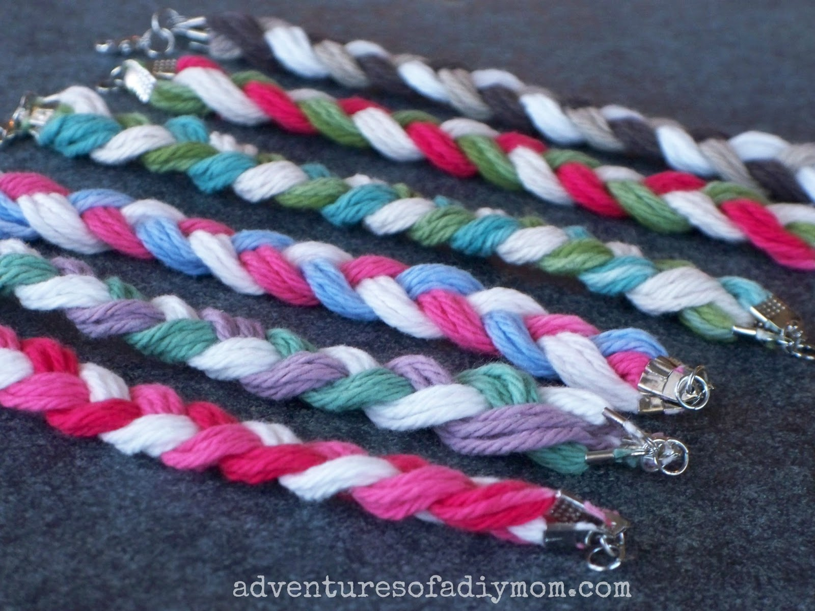 Braided Yarn Friendship Bracelet