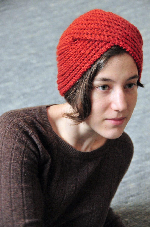 Knitted Turban Pattern Free : So, I make stuff: Urban Turban