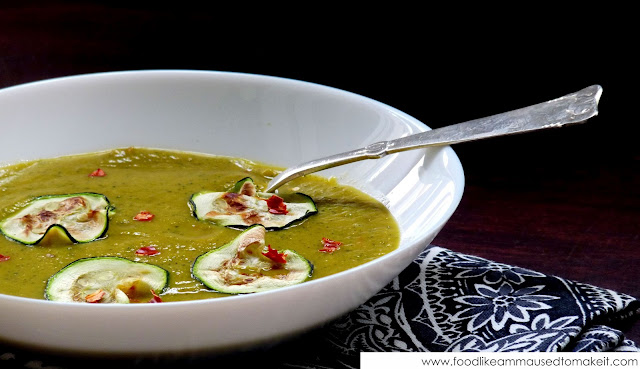 Spicy Zucchini Soup Recipe - Food like Amma used to make it
