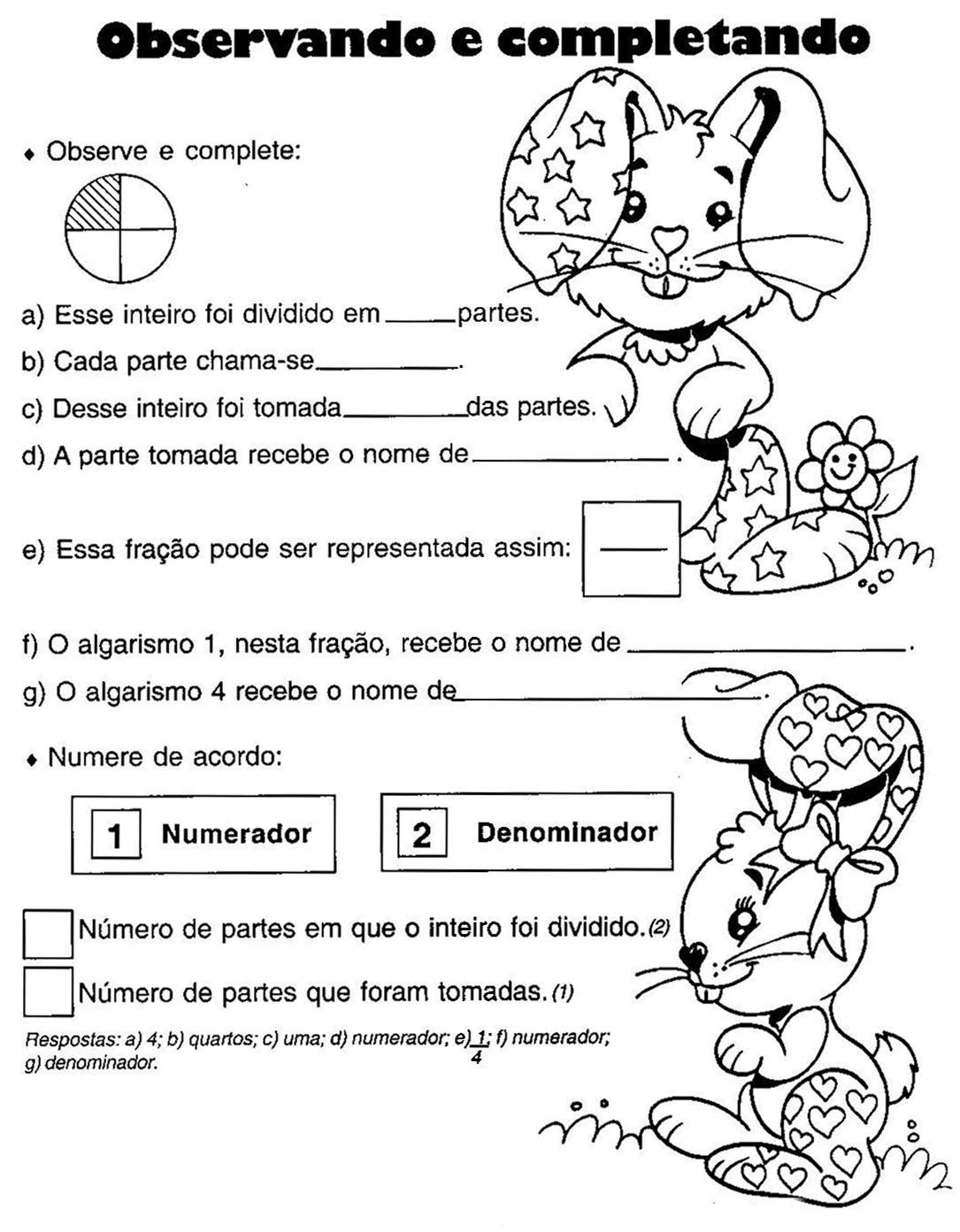 Conhecido Frações: Sugestões de atividades | TALENTOS PEDAGÓGICOS UC03