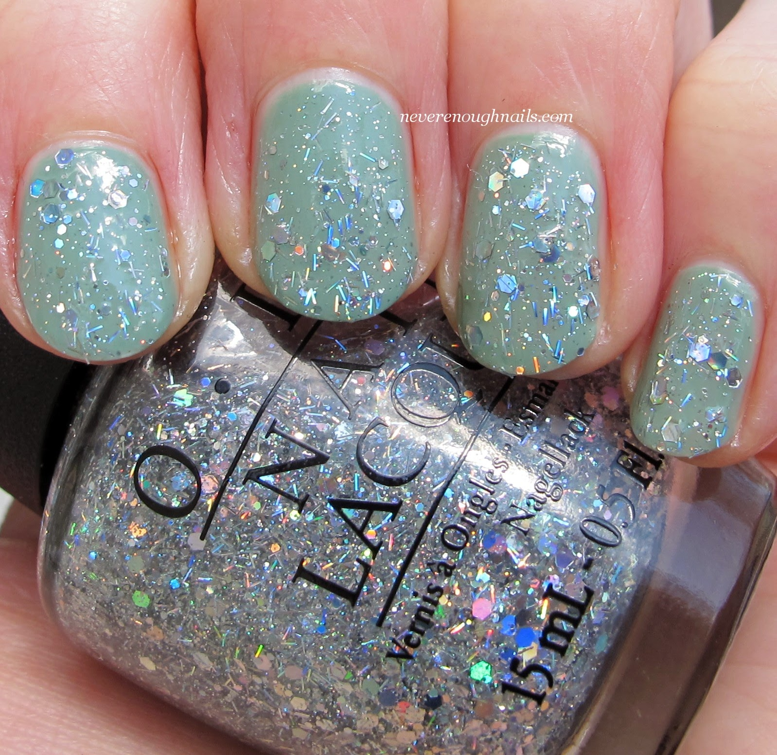 Never Enough Nails: OPI Spotlight on Glitter Swatches, Part 2!