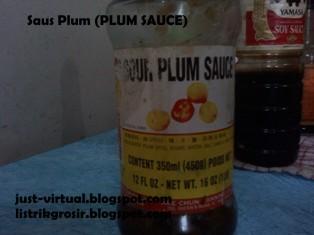 saus plum (sauce plum)