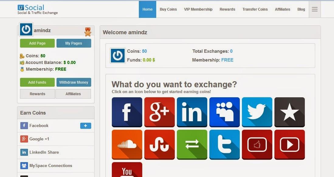 شرح شركة usocial للربح من المواقع الاجتماعية 2