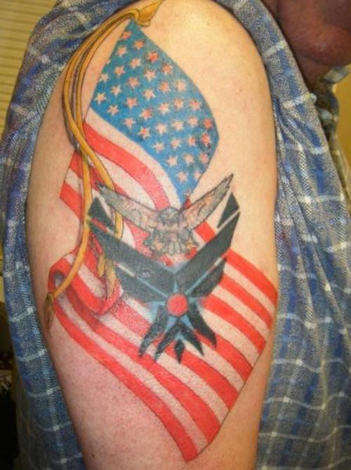 American Flag Tattoo Designs>>>>>