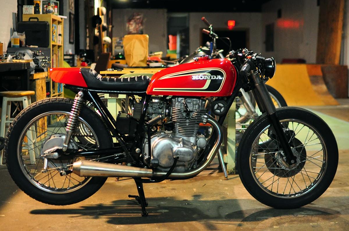 Counter Balance Motorcycles Honda Cb 360 Cafe Racer