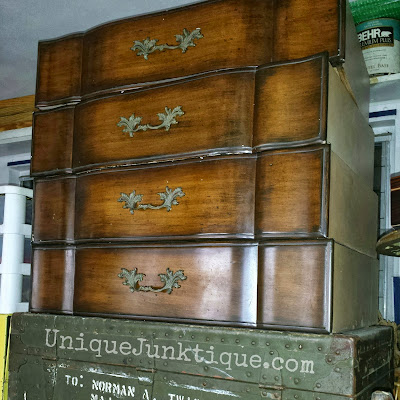 Salvaged Dresser Drawers