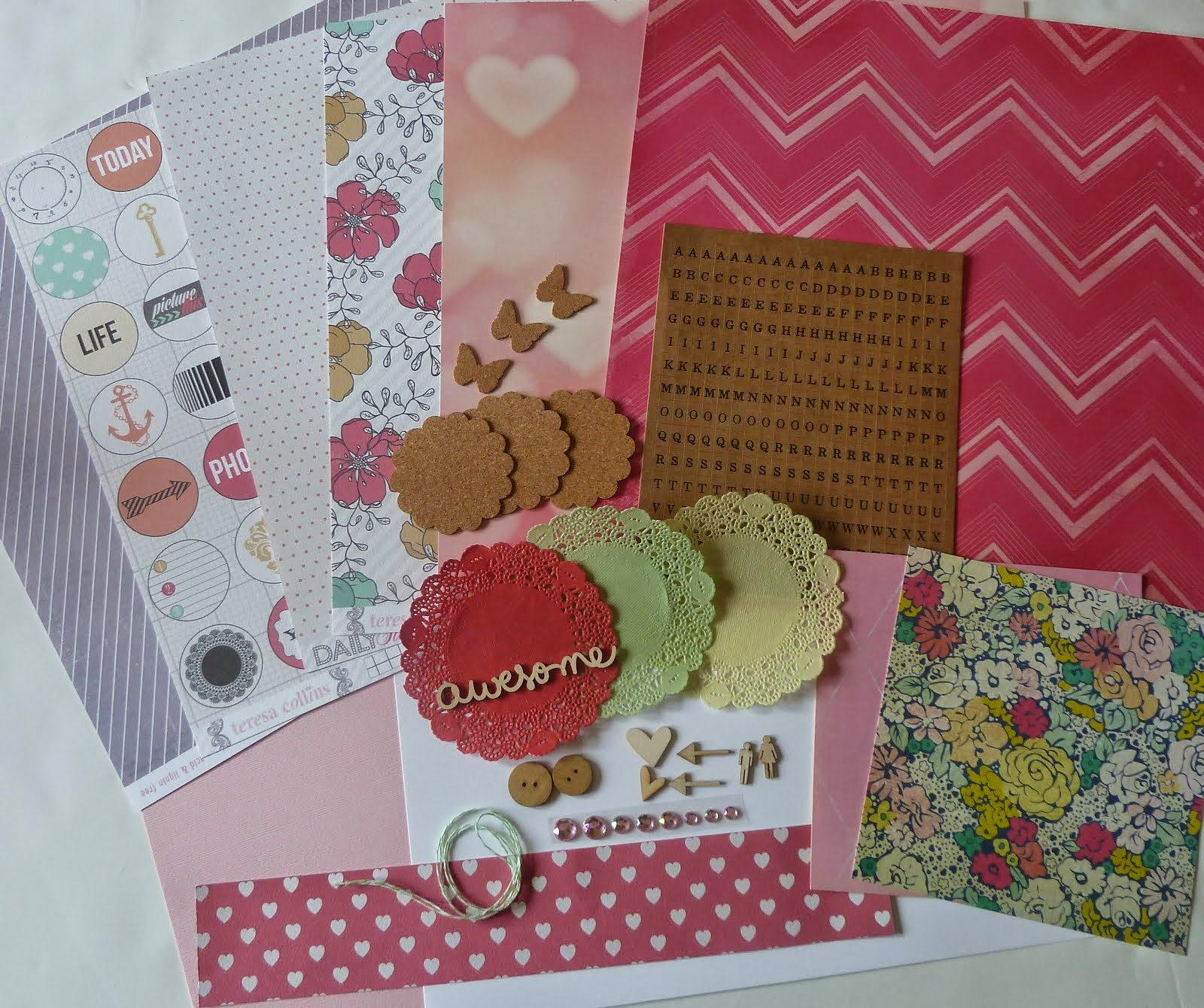 Current Scrapbook Kit