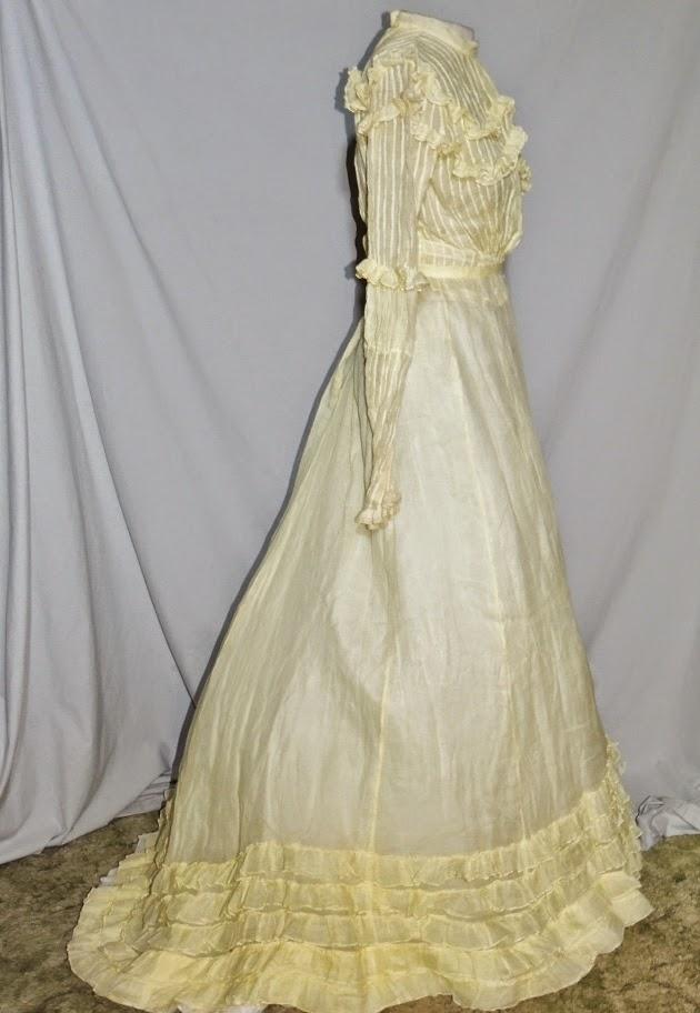 all the pretty dresses edwardian yellow summer dress