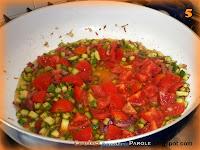 Spaghetti speck, zucchine e pomodorini
