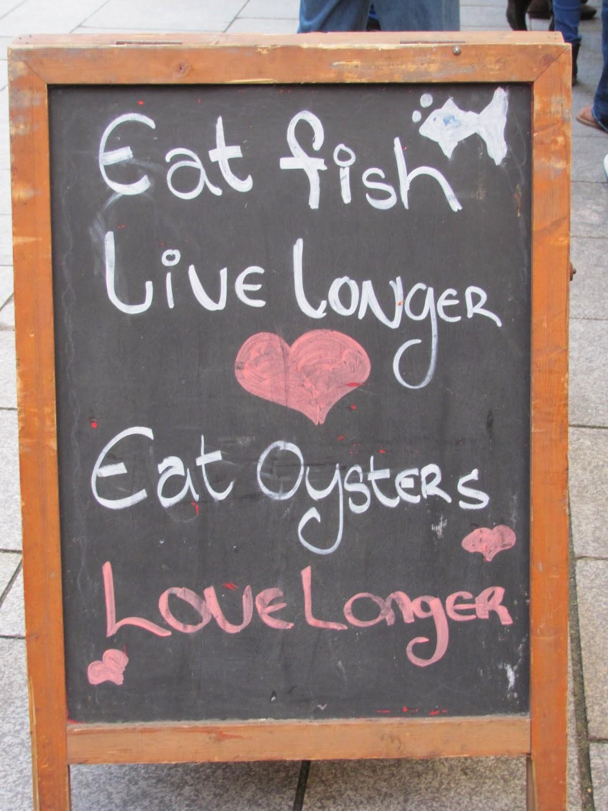 Food Market Oyster Bar Dublin, Ireland