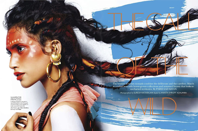 ethnic luxury, tribal fashion, Varun Sardana, Poli earrings,