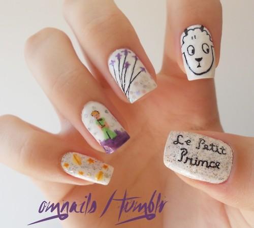 Nails Le Petit Prince