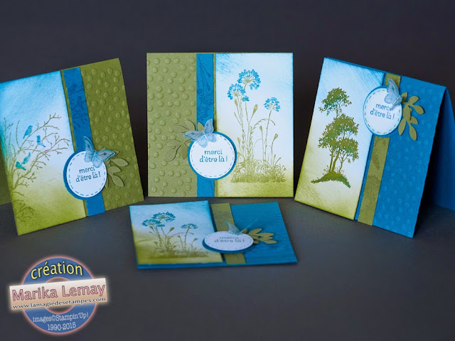 serene silhouettes Stampin' Up!