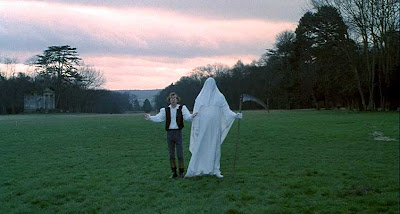Woody Allen and the Grim Reaper in Love and Death