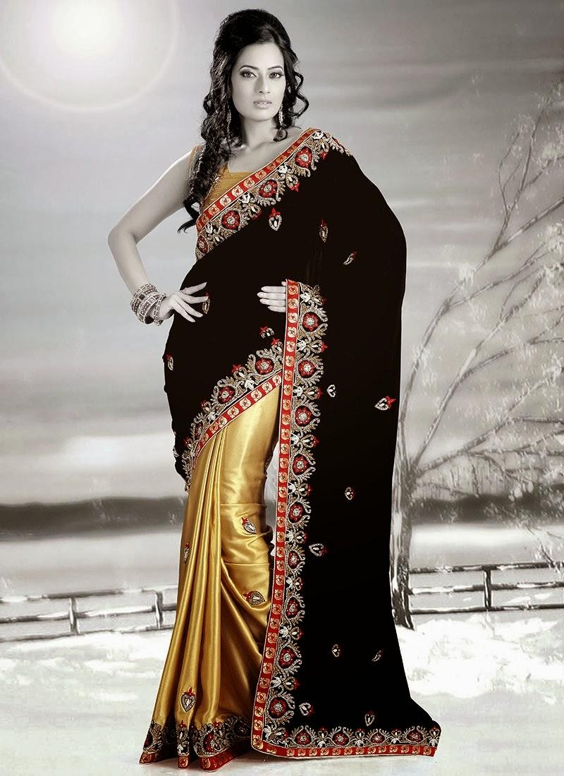 Indian Party Wear Sarees Indian Saree Fashion