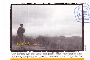 """Post Card """"Langit & Bumi"""""""