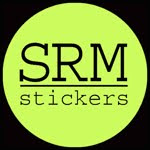 "SRM Stickers ""Featured"" 10/22, 11/19 2010"