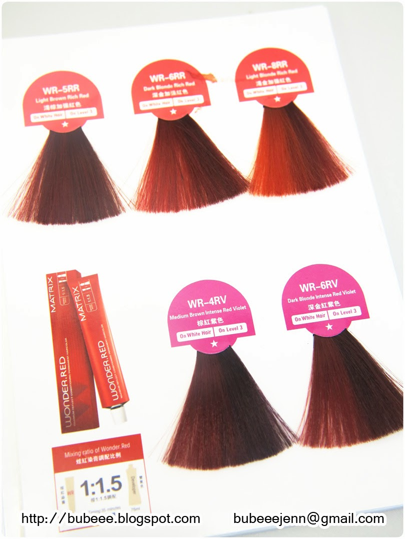 Red hair color matrix red hair colors 20162017 red hair color matrix nvjuhfo Images