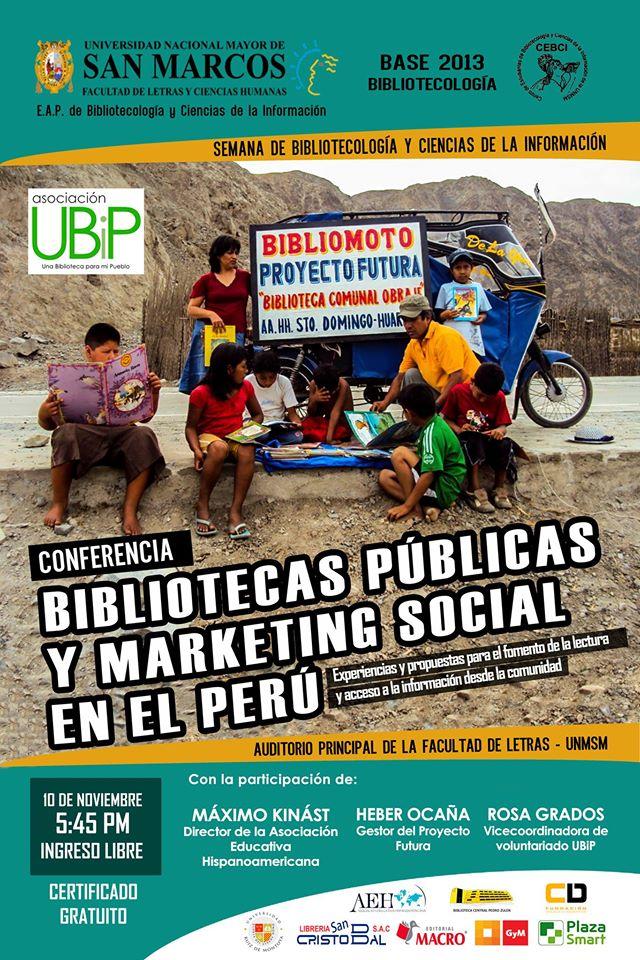 PROYECTO FUTURA EN LA UNIVERSIDAD NACIONAL MAYOR DE SAN MARCOS -     LIMA - 10 NOVIEMBRE - 2015.