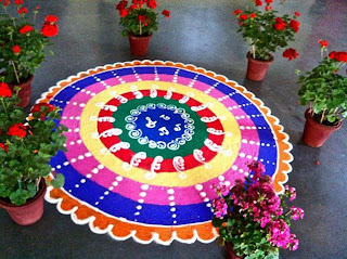 indian art Rangoli