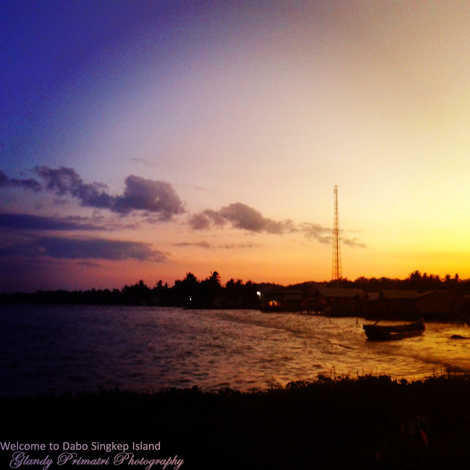dabo singkep, foto, laut, pelabuhan, matahari, terbenam, photography