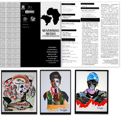 """Mostra coletiva """"Novembro Negro – Expressões Culturais Afrobrasil"""