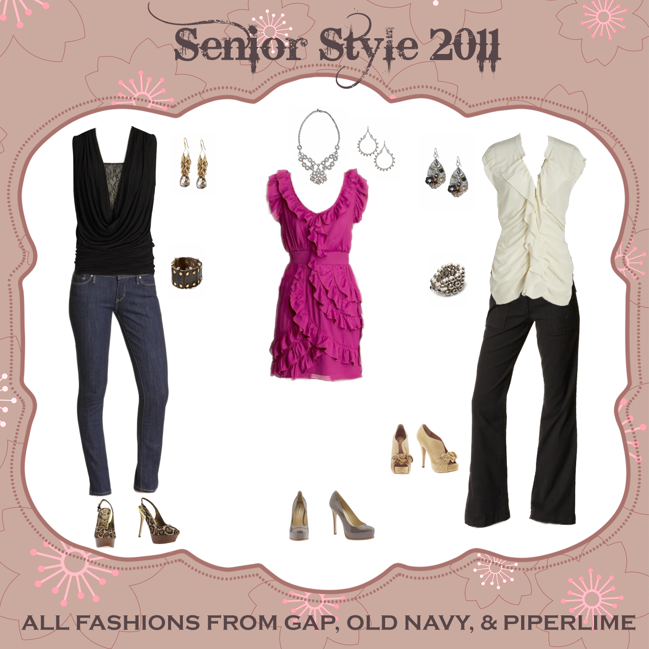 Clothing Essentials for Senior Portraits