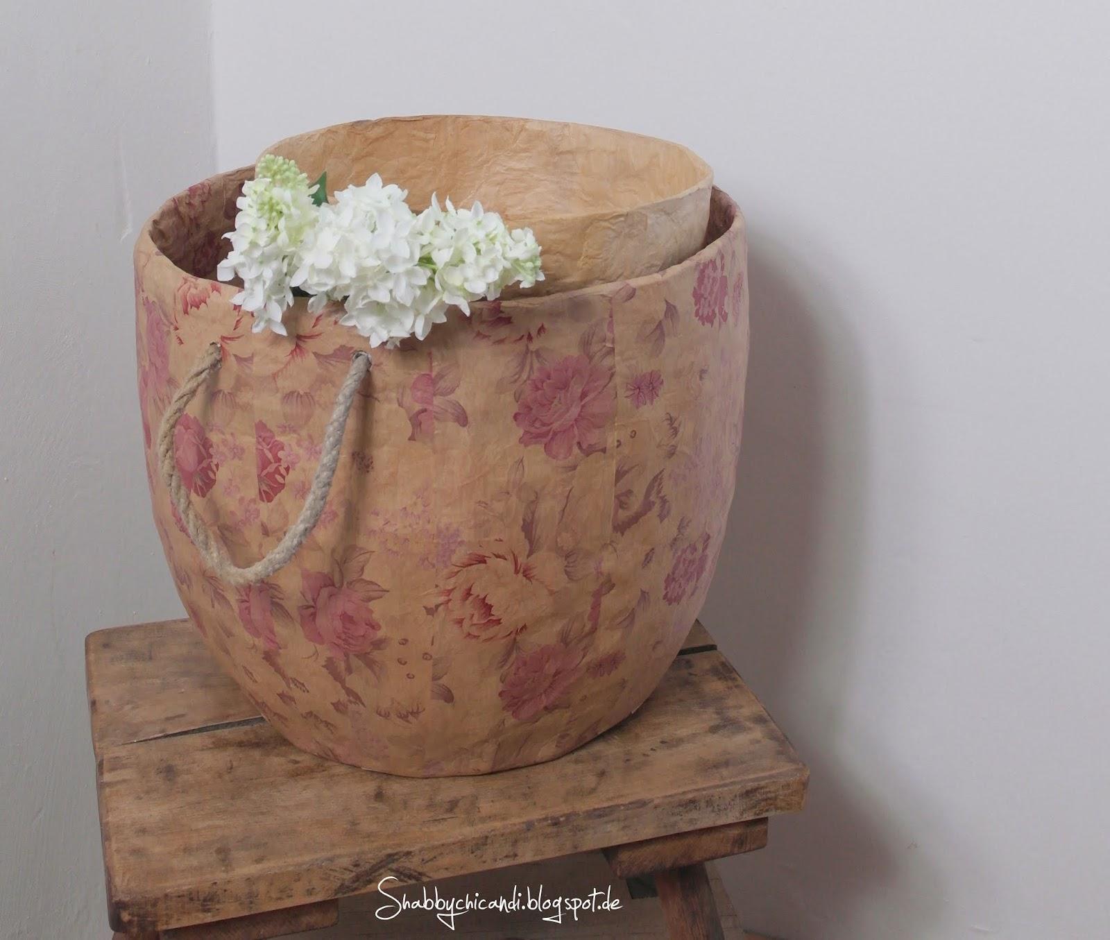 Vintage Paper Bowls