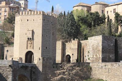 Puente de Alcántara in Toledo