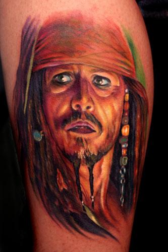 Tatuaje de Jack Sparrow
