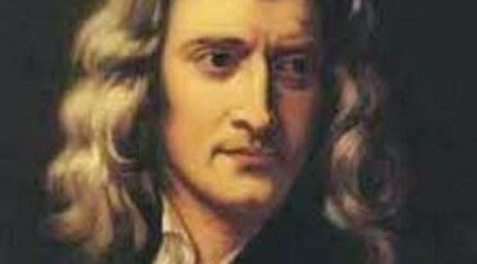 2. Sir Issac Newton (IQ 190)