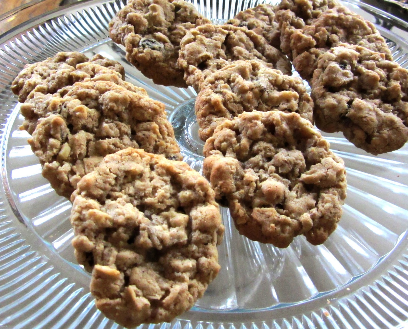 The Best Oatmeal Cookies (Gwenn's recipe)