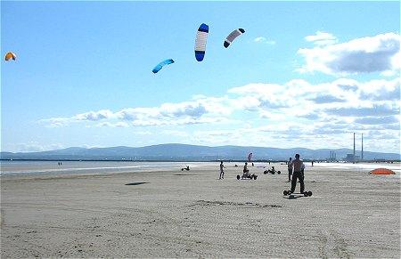 kitesurfing dublin watersports Dollymount