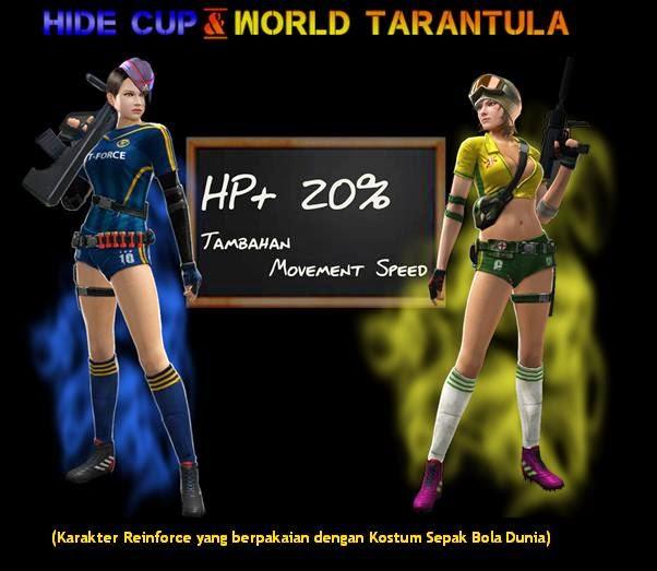 Karakter baru Point blank edisi World Cup 2014