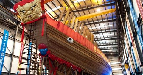 Zheng He Ship Replica MONGOLS CHINA AND THE ...