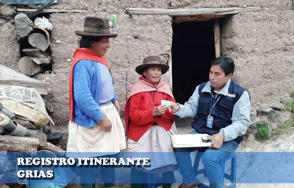 Registro Itinerante Grias 2018