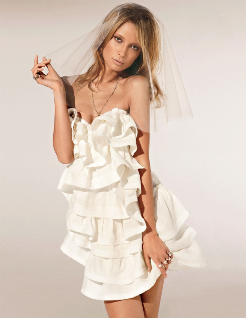 via fashioned by love | Tiiu Kuik in Vogue Novias Fall/Winter 2010 (photography: Michelle Ferrara, styling: Marina Gallo)
