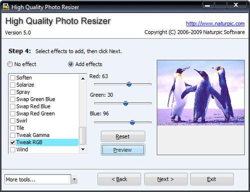 High Quality Photo Resizer - Phần mềm thay đổi kích thước ảnh hàng loạt vẫn giữ nguyên độ phân giải