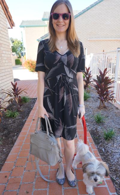 Away From Blue Aussie Bloger Leona Edmiston Fern Print dress RM MAM