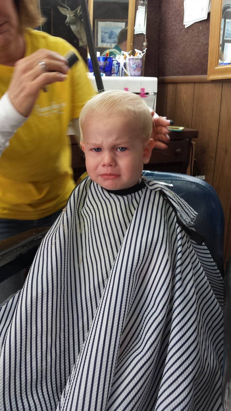 May The Schwartz Be With You The Schwartzes Vs Babys 1st Haircut