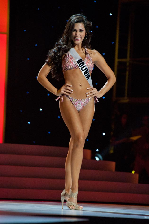 Miss Universe Bikini Babe -  Miss Universe 2011 bikini Round Pics