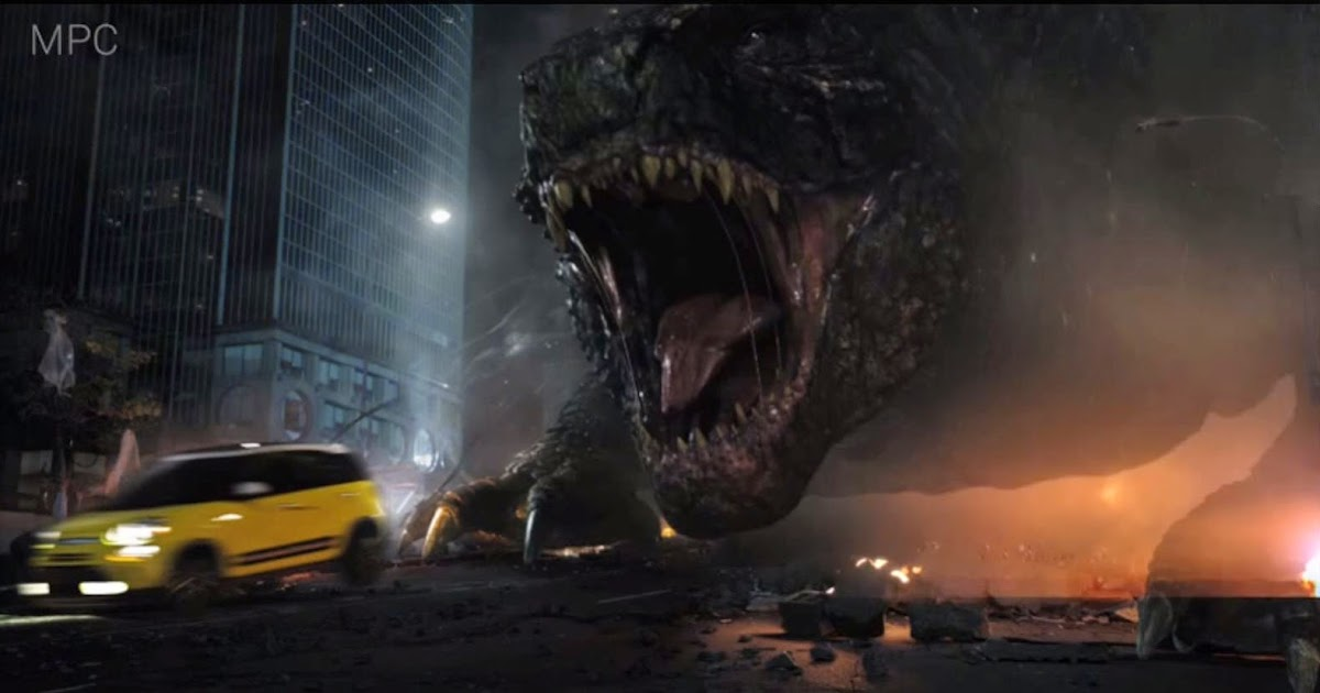 Behind The Scenes Of FIAT Godzilla Commercial CG Daily