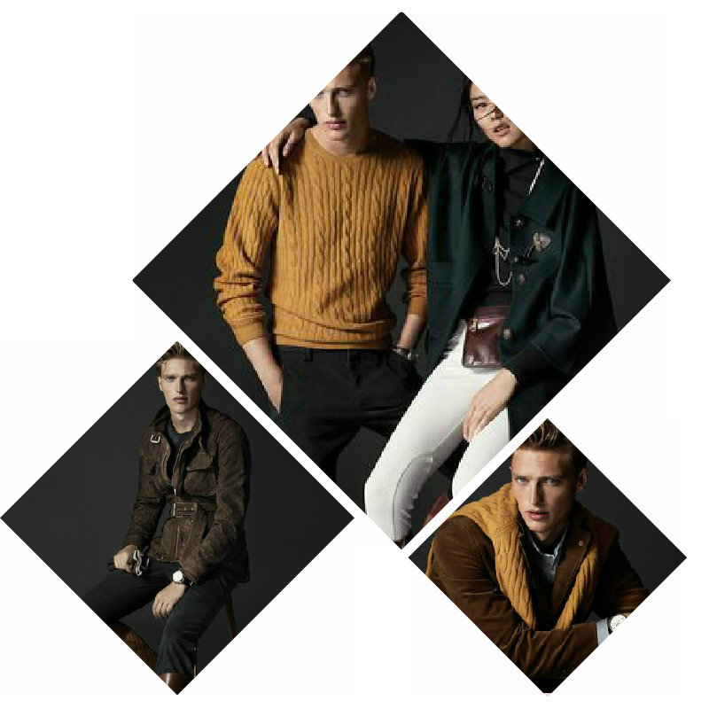 enswear] AW2014-15 Massimo Dutti collage by LuceBuona  L-vi.com